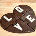 Love Heart Puzzle Chocolate Mould