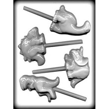 Dinosaur Hard Candy Lollipop Mould