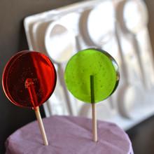 Round Sucker Hard Candy Lollipop Mould