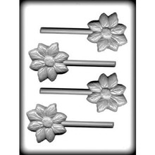 Flower Hard Candy Lollipop Mould