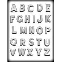Alphabet Hard Candy Mould