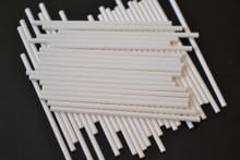 50 - 115mm Long Paper Lollipop Sticks