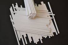 100 - 115mm Long Paper Lollipop Sticks