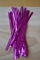 """4"""" (100mm) Lilac Metallic Twist Ties"""