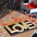 LOVE Bar Chocolate Mould