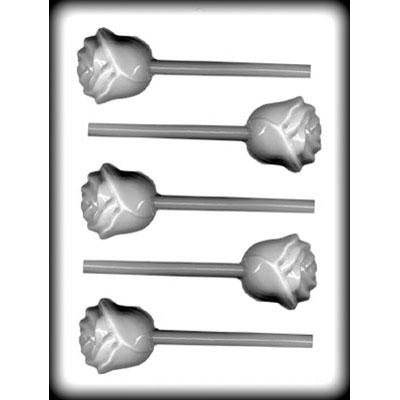 Rose Hard Candy Lollipop Mould