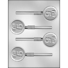 """I'm 5"" Chocolate Lollipop Mould"