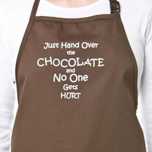 Just Hand Over The Chocolate Apron