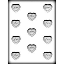 Love Heart Hard Candy Mould