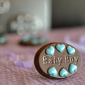 Baby Boy Oval Mint Chocolate Mould