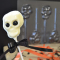 Skull Chocolate Lollipop Mould
