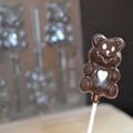 Cute Bear Lollipop Chocolate Mould