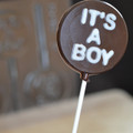 'Its a Boy' Lollipop Chocolate Mould