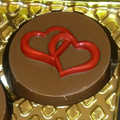 Double Heart Cookie Chocolate Mould