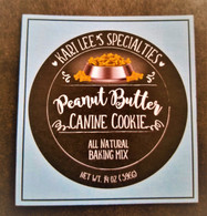 Peanut Butter Canine Cookie