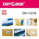 Compatible Brother DK-11218 Round Die-cut Label (6 rolls)