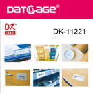 Compatible Brother DK-11221 Square Paper Label (6 rolls)