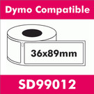 Compatible Dymo SD99012 Large Address Label (100 rolls)