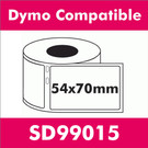 Compatible Dymo SD99015 Large Multi-Purpose Label (2 rolls)