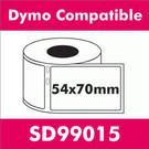 Compatible Dymo SD99015 Large Multi-Purpose Label (6 rolls)
