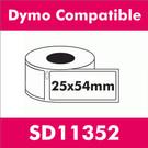 Compatible Dymo SD11352 Multi-Purpose Label (2 rolls)