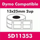 Compatible Dymo SD11353 Multi-Purpose Label (2 rolls)