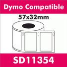 Compatible Dymo SD11354 Multi-Purpose Label (3 rolls)