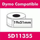 Compatible Dymo SD11355 Return Address Label (2 rolls)