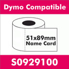 Compatible Dymo S0929100 Appointment Card (8 rolls)