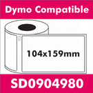 Compatible Dymo SD0904980 XL Shipping Label (5 rolls)