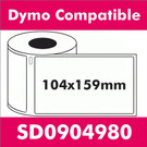Compatible Dymo SD0904980 XL Shipping Label (16 rolls)