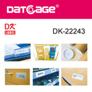 Compatible Brother DK-22243 Continuous Paper Label (8 rolls)
