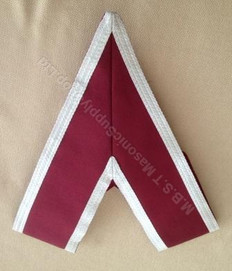 Grand Stewards Collar  Crimson Red