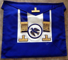 Past  Grand  Officers  Undress  Aprons with Circle
