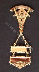 Past Master Breast Ornate Two Bar