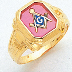 3rd Degree Masonic Gold Ring12
