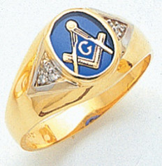 3rd Degree Masonic Gold Ring19