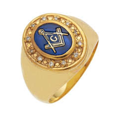3rd Degree Masonic Gold Ring32