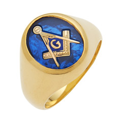 3rd Degree Masonic Gold Ring33