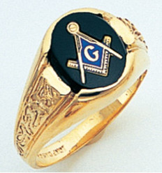 3rd Degree Masonic Gold Ring38