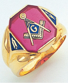 3rd Degree Masonic Gold Ring43