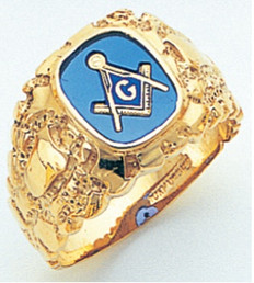 3rd Degree Masonic Gold Ring45