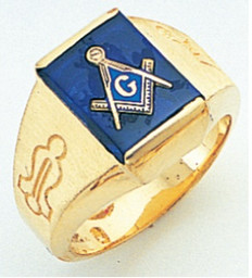 3rd Degree Masonic Gold Ring48