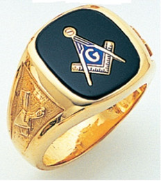 3rd Degree Masonic Gold Ring57