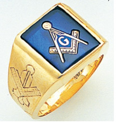 3rd Degree Masonic Gold Ring59