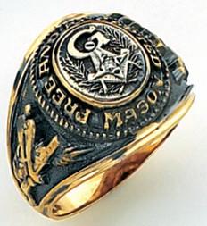 3rd Degree Masonic Gold Ring62