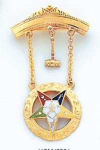 GOLD EASTER STAR JEWEL HOMJ6364