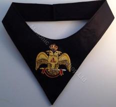 Scottish Rite Cravat  Wings Down 33rd