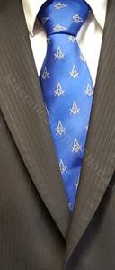 Masonic Blue Tie