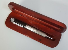Masonic Pen with Rosewood Case-1